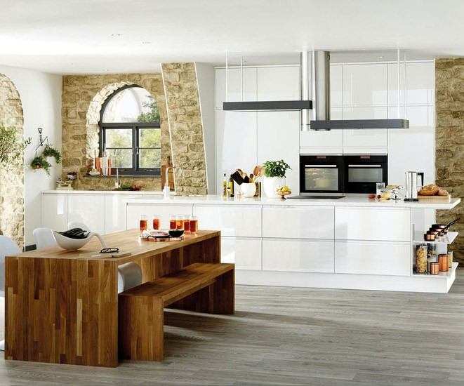 Bayswater Gloss White We Fit Howdens Kitchens