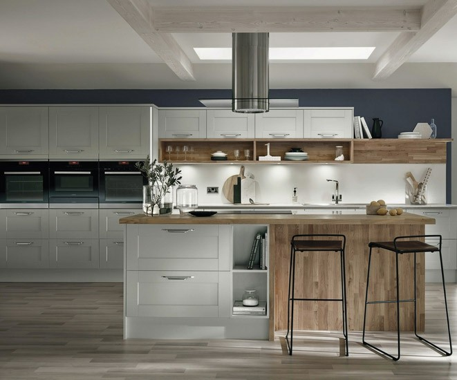 Fairford Dove Grey We Fit Howdens Kitchens